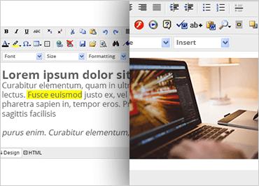 ASP.NET HTML Editors