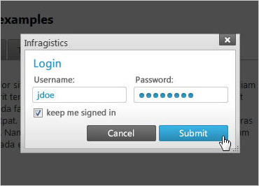ASP.NET Dialog Window: Modal or Modeless