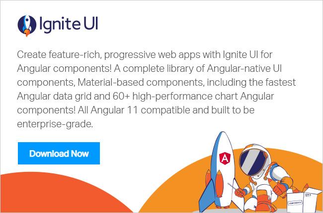 Ignite UI for Angular