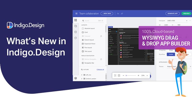 What's New for Indigo.Design