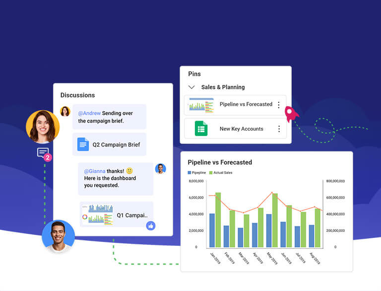 Slingshot - all-in-one digital workplace for team collaboration