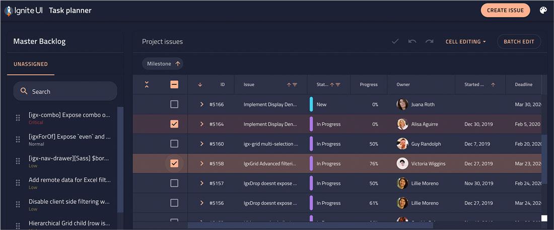 Javascript Ui Design Software User Interface Components Infragistics
