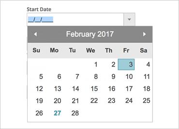 Date Picker
