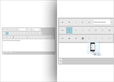 Ignite UI HTML Editor