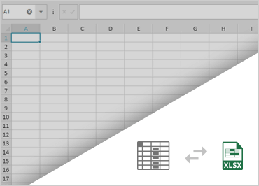 Spreadsheet Import & Save Data to Excel Function