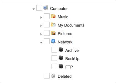 Tree List Component - JavaScript/HTML5 & jQuery | Ignite UI