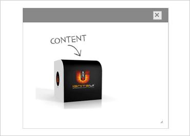 Ignite UI Dialog Window