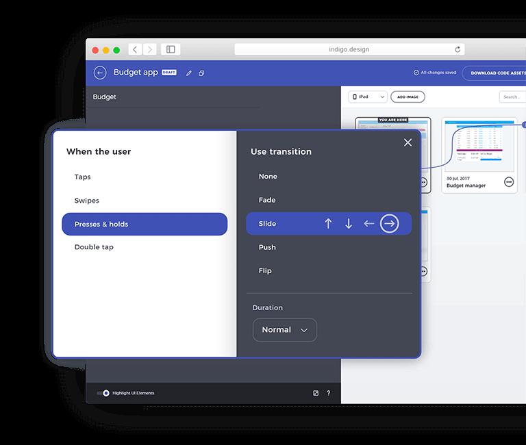 Indigo Design | Unified Platform for UX/UI Designers and Developers