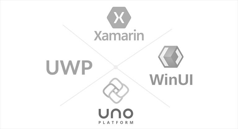 Cross platform frameworks - Xamarin, UWP, WinUI and Uno