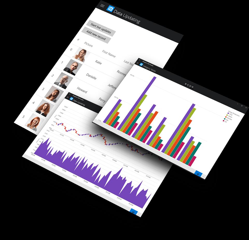 UWP Controls - Universal Windows Platform - Infragistics