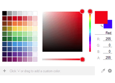 WinForms Color Picker