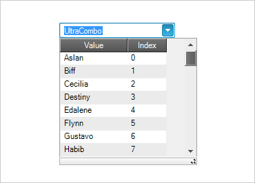 WinForms single or multi-combo drop downs