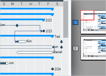 WinForms Gantt View