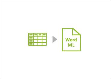 WinForms WordML documents