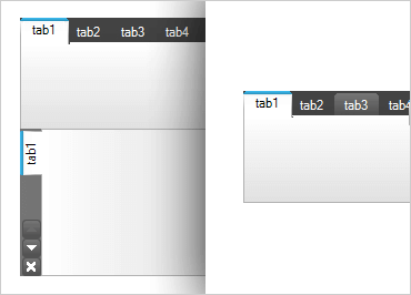 WinForms Tab Control