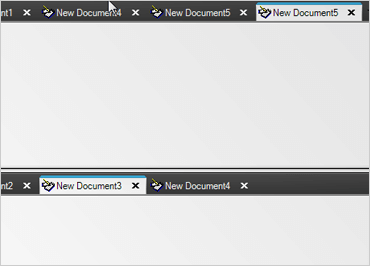 WinForms Tabbed MDI Multiple Tab Groups