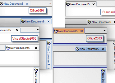 WinForms Tabbed MDI Orientation and Style