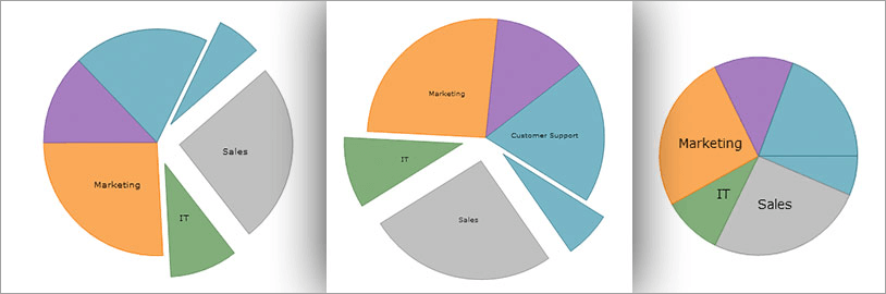 WinForms Pie Chart Customization