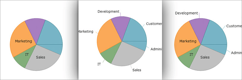 WinForms Pie Chart Labels