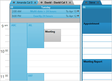 Schedule Component – WinForms | Ultimate UI
