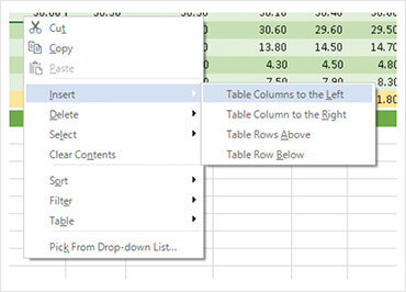 WinForms Table Creation and Management