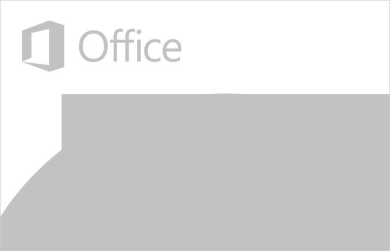 Microsoft® Office logo with Windows Forms toolbars and dropdown menu, that replicate the look and feel of Microsoft® Office