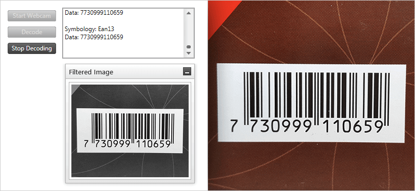 Barcode Reader Component – WPF | Ultimate UI