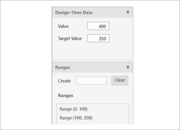 Data Binding Example for WPF Bullet Graph Control