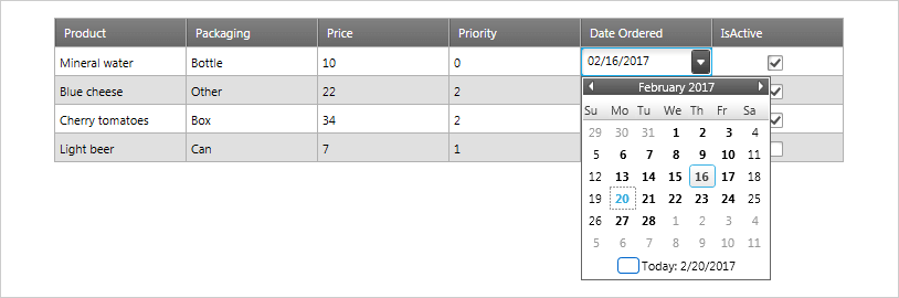Input Component – WPF | Ultimate UI