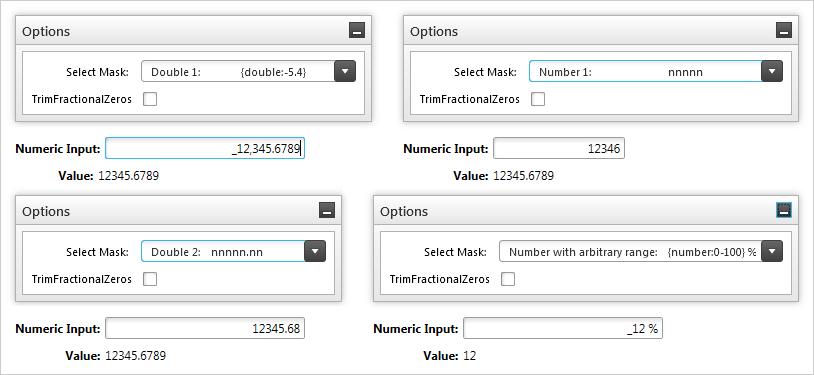Numeric Input