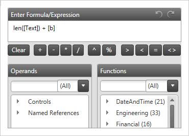 WPF Formula Editor