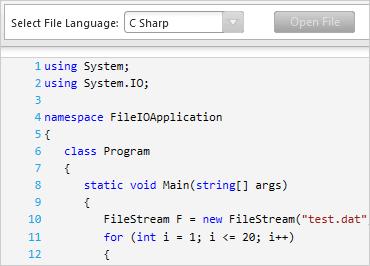 WPF Syntax Editor