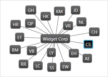 WPF Network Node