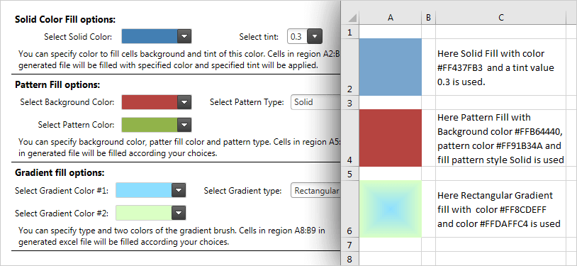 Excel Library Component – WPF   Ultimate UI