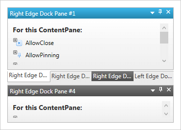 WPF Dock Manager