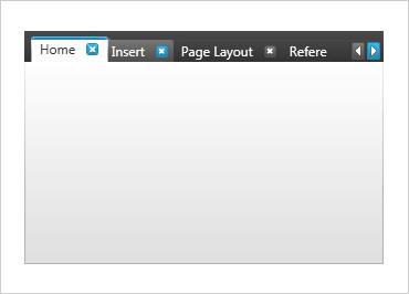 WPF Tabbed UI