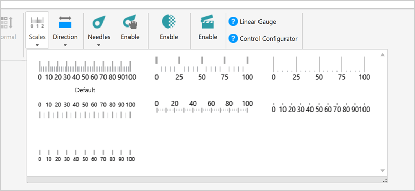 Pre-set Scale Customizations for WPF Linear Gauge Control