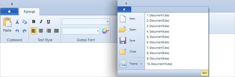 Windows 7 Scenic Ribbon