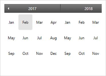 WPF Month Calendar