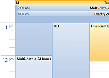 Schedule Component – WPF | Ultimate UI