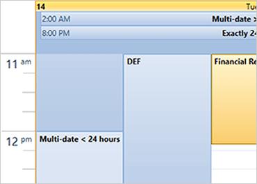 WPF Schedule