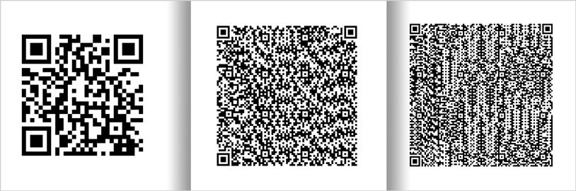 Xamarin QR バーコード: サイズ バージョン