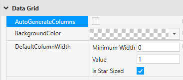 Disable AutoGenerateColumns to have more control over columns added to grid