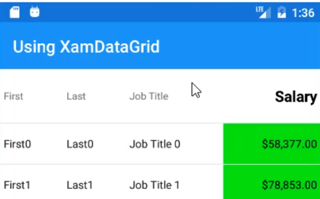 Running the Xamarin Sample App
