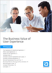 Business value of UX